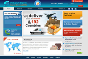 Indrapuri Express Courier