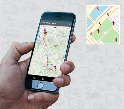 Pickup/Delivery Tracking Software