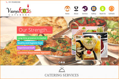 Vaanya Foods Catering Services